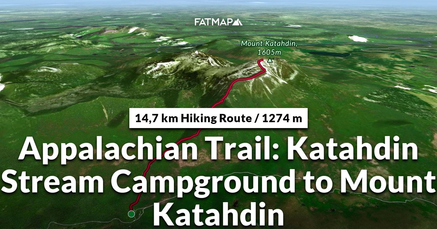 Appalachian Trail: Katahdin Stream Campground to Mount ...