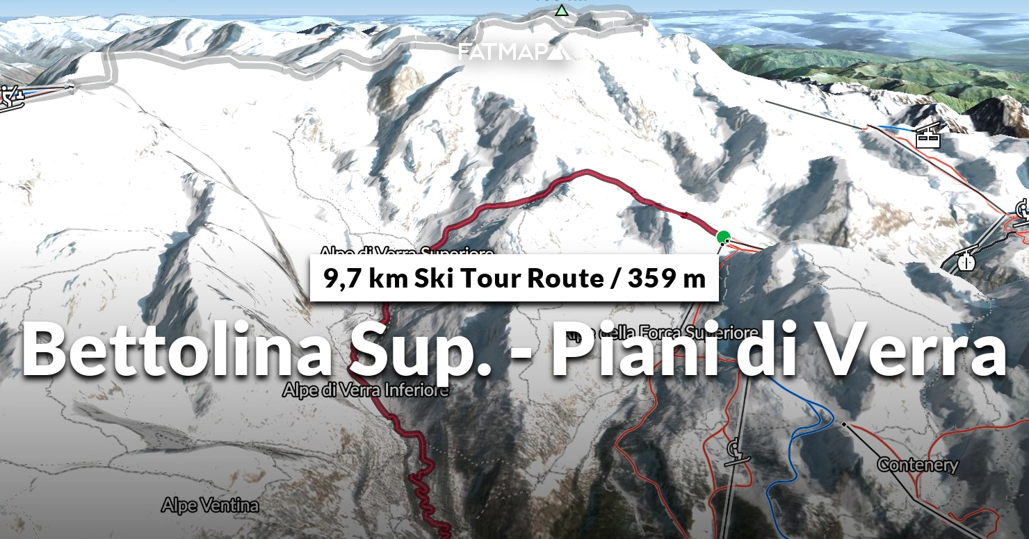 5d87eb52efe Bettolina Sup. - Piani di Verra Outdoor map and Guide