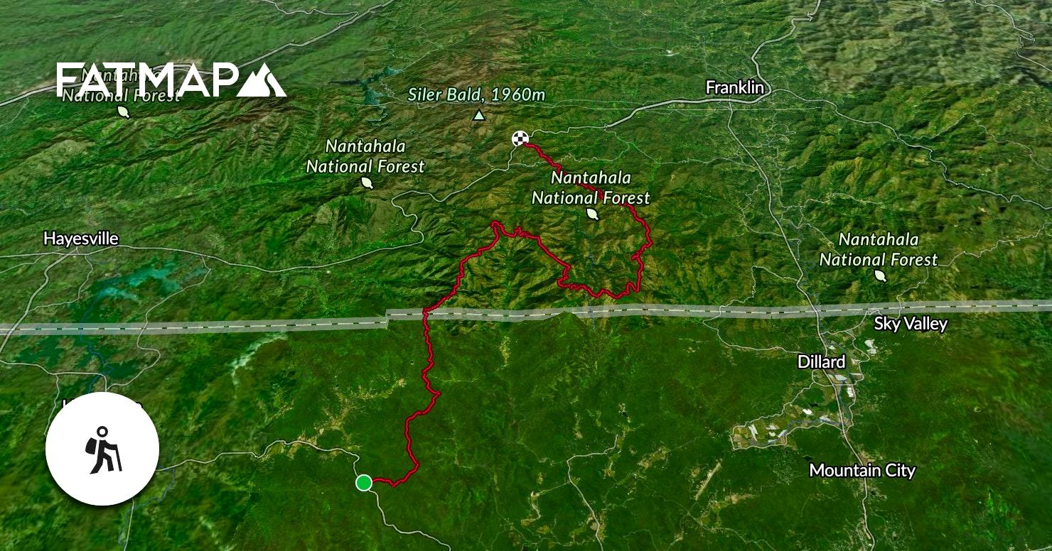 Appalachian Trail: Dicks Creek Gap to Winding Stair Gap